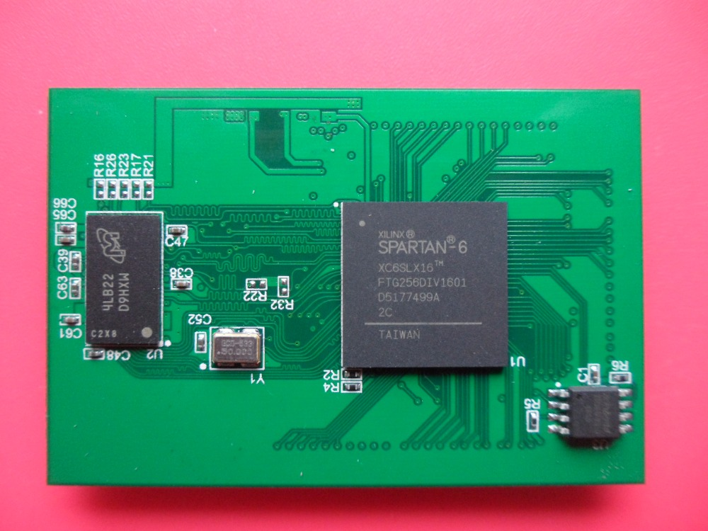 XC6SLX16 Core Board FPGA Development Board With DDR3 Spartan6 Support Two Development