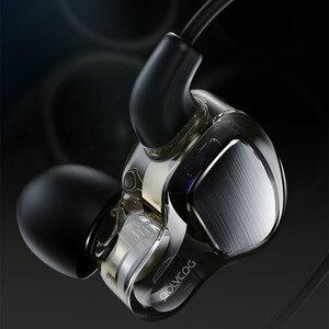Image 5 - หูฟังหูฟัง Hifi สเตอริโอเบสหูฟังไมโครโฟนชุดหูฟัง Hybrid Driver สำหรับวิ่งจ๊อกกิ้งเดิน