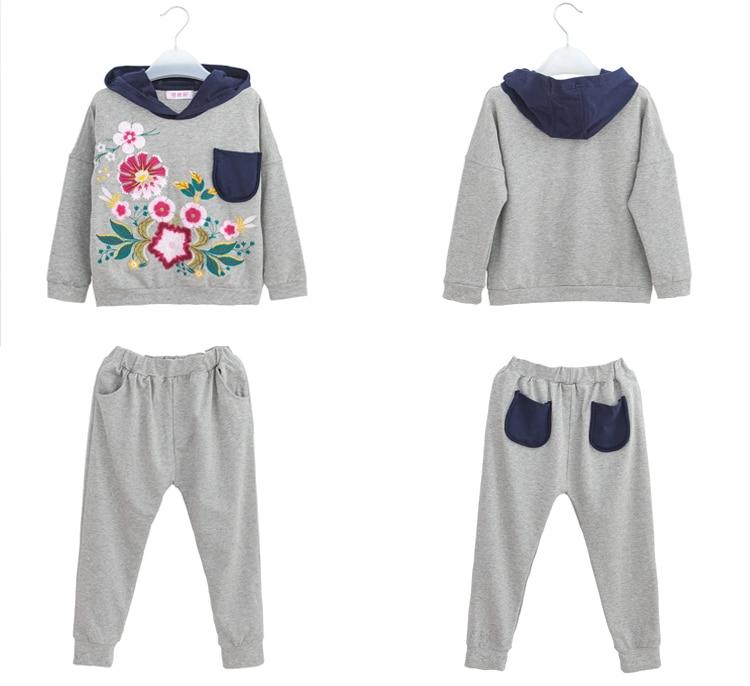 82c480c11218 Girls Winter Clothes 2 pcs Set Sport Costumes Fitness Clothing ...