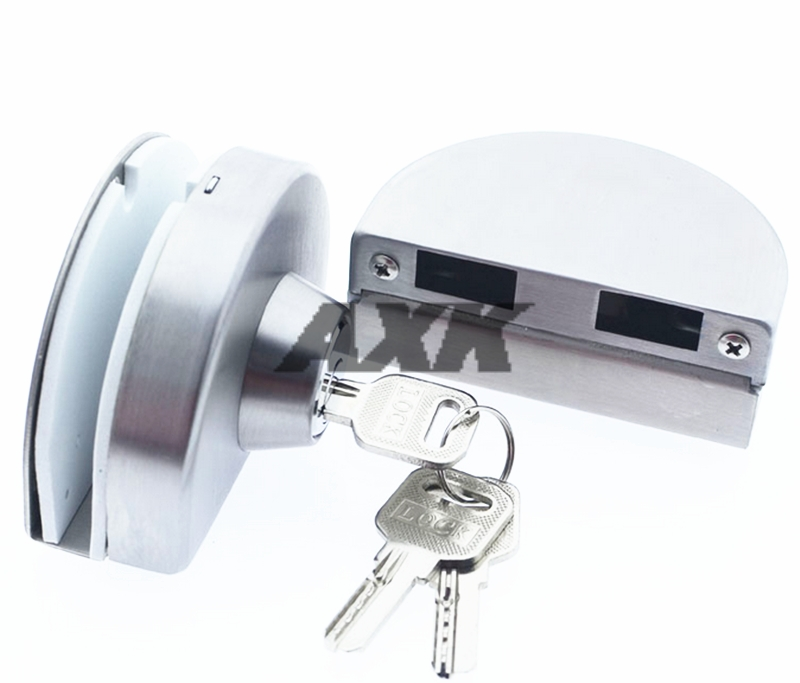 Axk Double Glass Door Lock 304 Stainless Steel Double Open Frameless Door Hasps For 10-12mm Thickness Furniture Hardware цены
