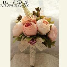 2016 New Bridal Bouquet Wedding Artificial Flowers Bouquet For Bridesmaids Pink Cheap Gros Bouquets De Mariage