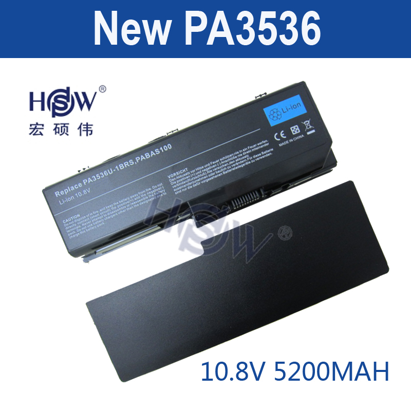 HSW 6Cells Laptop Battery Black for Toshiba Equium P200 FOR Satellite P200 P300 L350/L355 PA3536U-1BRS PA3537U-1BAS bateria new us keyboard black for toshiba satellite a500 a505 p200 p300 p505 l500 l505 l535 l550 l350 x505 x500 f501 laptop us keyboard