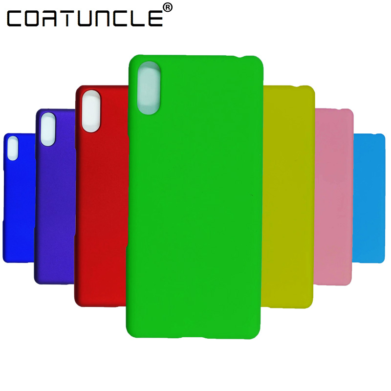 For <font><b>Sony</b></font> <font><b>L3</b></font> <font><b>Case</b></font> on sfor Coque <font><b>Sony</b></font> <font><b>Xperia</b></font> <font><b>L3</b></font> Cover for <font><b>Sony</b></font> <font><b>Xperia</b></font> L 3 Covers Candy Colour Hard Plastic PC Matte Phone <font><b>Cases</b></font> image