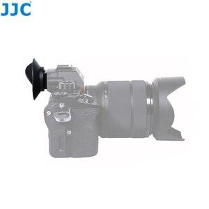Image 2 - JJC FDA EP16 עיינית עבור Sony A7RIV A7RIII A7III A7II A7SII A7R A7S A7 A58 A99II A9II DSLR עינית מצלמה אבזרים עינית