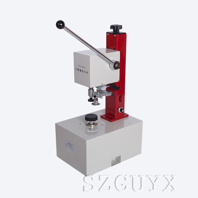 TD SGL полуавтоматическая блокировочная укупорочная машина 0,4 0.6Mpa домашняя крышка замка бутылки укупорочная машина 110/220V 1 шт - 5