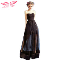 Black Short Long Before After The Wedding The Bride Will Show Host Dinner Dress New Winter