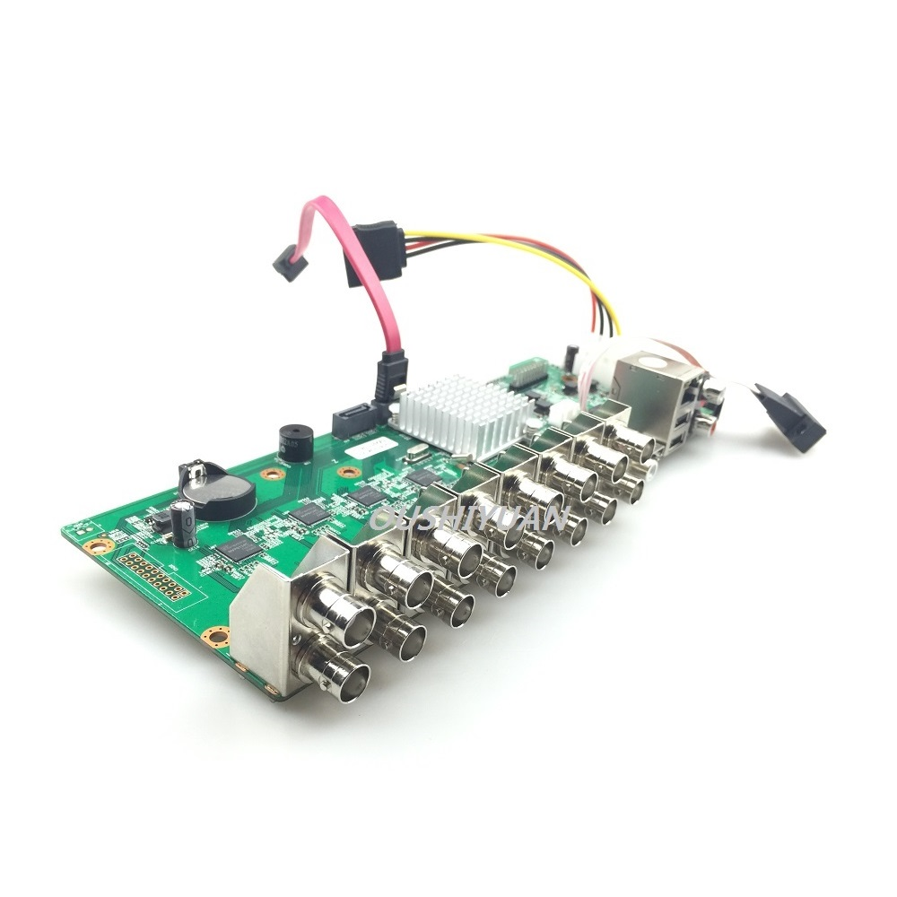 CCTV H.264 Video Recorder 8CH 1080N AHD//TVI//CVI//CVBS//16CH IP 5in1 DVR Main Board
