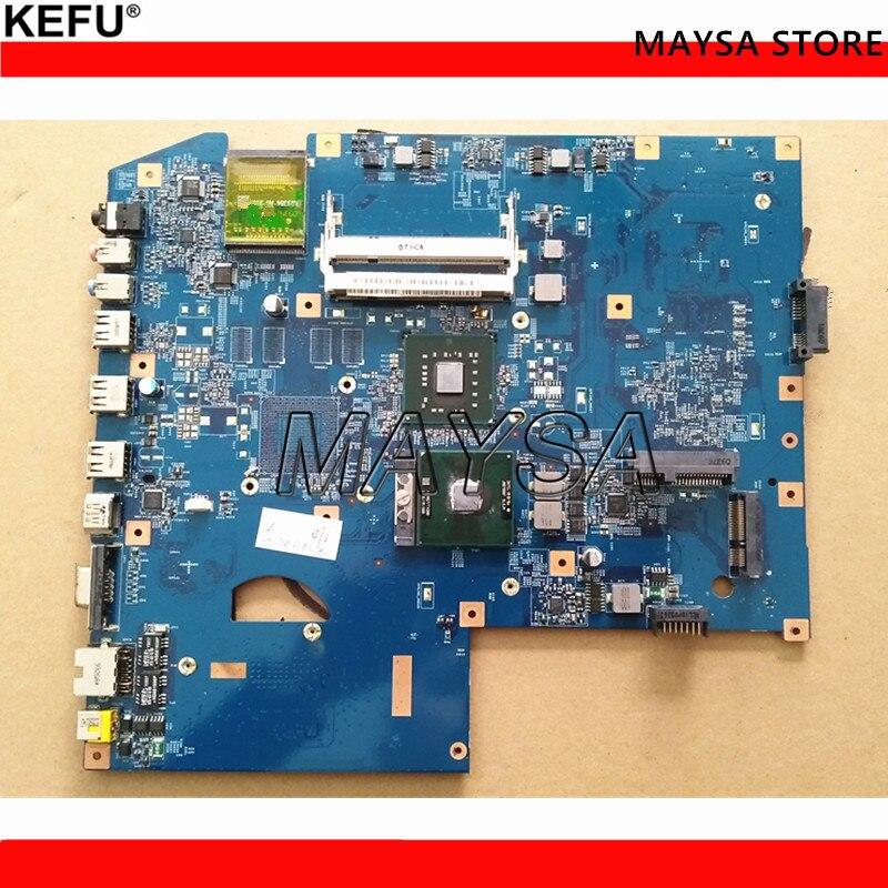 MB MBPJB01001 For Acer Aspire 7736 7736Z Laptop Motherboard JV71-MV 09242-1M 48.4FX01.01M mPGA479M DDR2 100% Tested da0z01mb6e0 rev e mbakd06001 mb akd06 001 for acer aspire 4720 4720z laptop motherboard gl960 ddr2