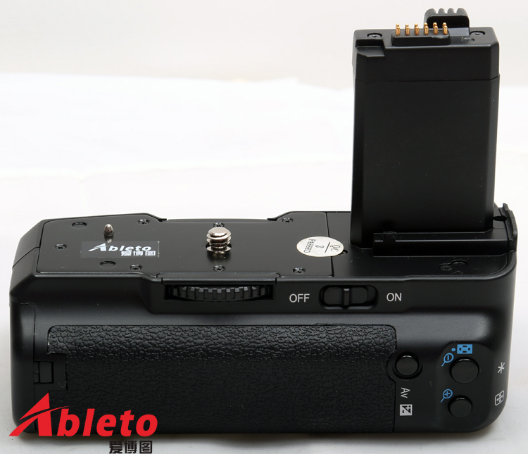 battery grip/pack/Power Grip for Canon EOS 450D 500D 1000D rebel XS XSi T1i BG-E5 camera