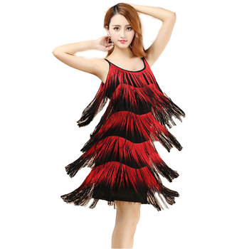 Red Latin Dance Costumes Women Salsa Dancewear Dance Costume Dresses Ballroom Competition Dresses Tango Adult Fringe Latin D free shipping suphini customized salsa dance shoes special lady ballroom latin dance shoes