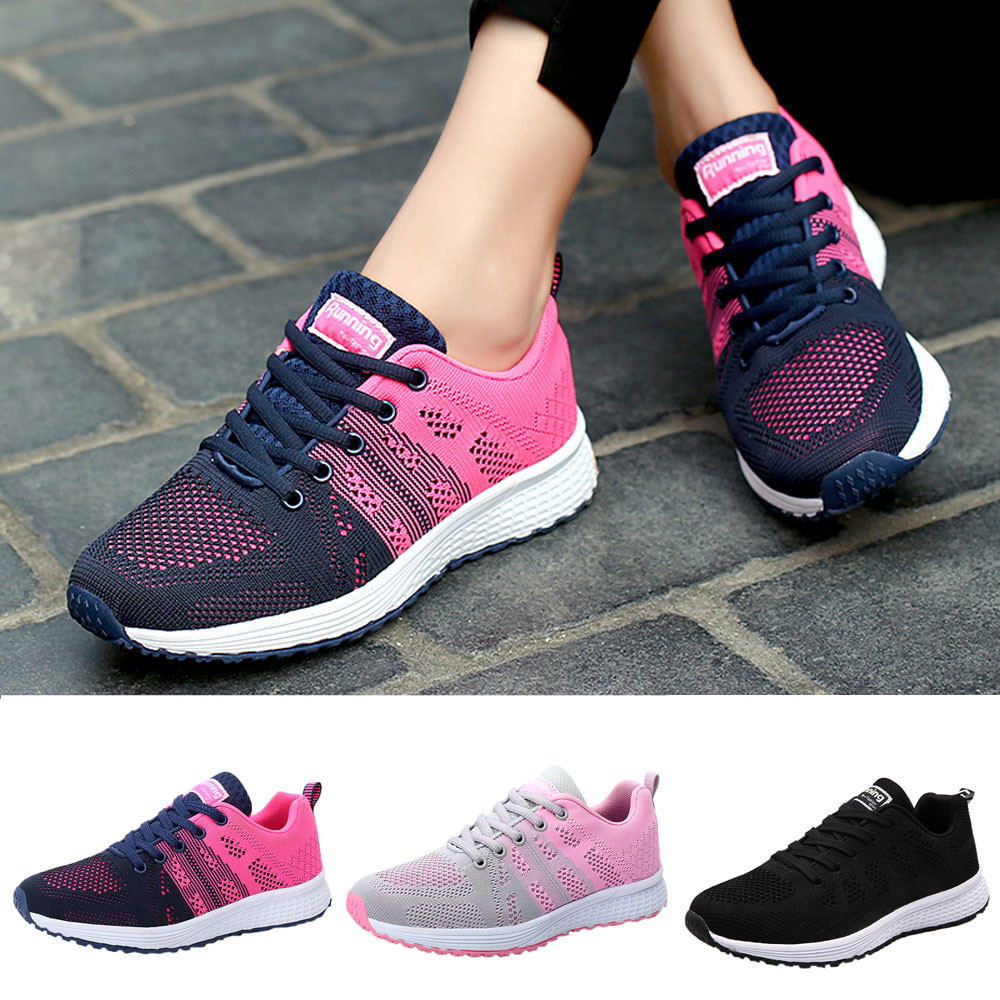 2018 Women Running Sneakers Lightweight Gym Sneakers Yoga Sneakers Shoes Shoes Sneakers Running Shoes Sports Shoes 20
