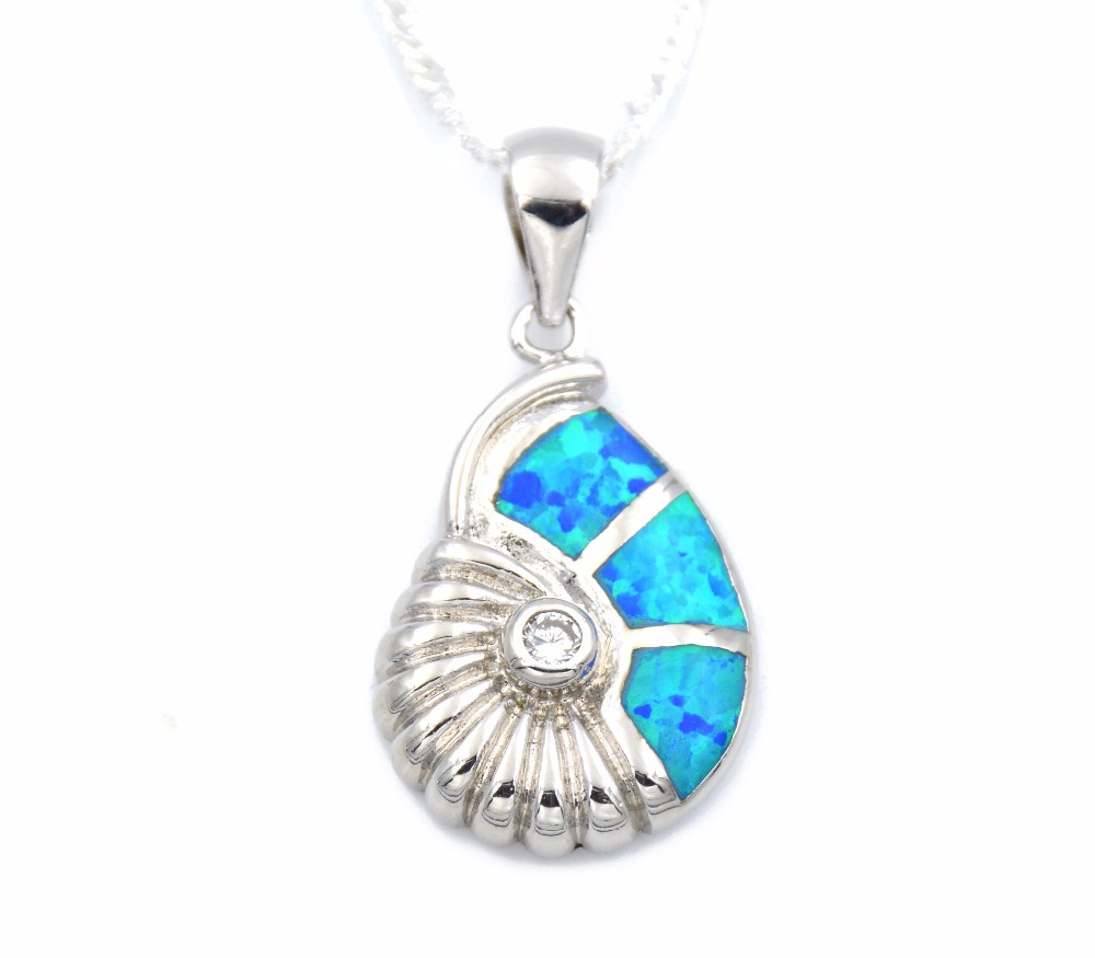 silver ocean pendant nauticalwheeler necklace image product wave of