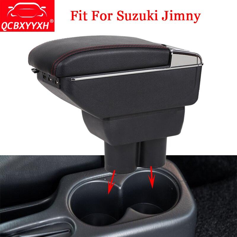 QCBXYYXH Car Styling ABS Car Armrest Box Center Console Storage Box Holder Case Decoration Auto Accessories Fit For Suzuki Jimny стоимость