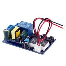 AC 110 ~ 250V עיכוב טיימר מודול LED תצוגת אוטומציה דיגיטלי עיכוב טיימר בקרת ממסר מתג מודול