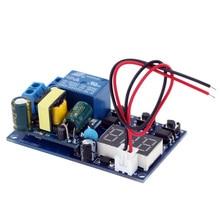 AC 110 ~ 250V moduł opóźnienia czasowego wyświetlacz LED automatyka cyfrowy moduł przekaźnika czasowego przekaźnika czasowego
