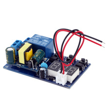 Module de minuterie de retard ca 110 ~ 250V Module de commutateur de relais de contrôle de minuterie de retard numérique dautomatisation daffichage à LED