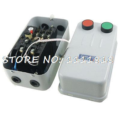 AC 380V 11A 5HP Three Phase Motor Start Stop Control Electromagnetic Starter beroun hs650 10kw three phase 380v single phase 220v power remote control thermostat temperature control switch