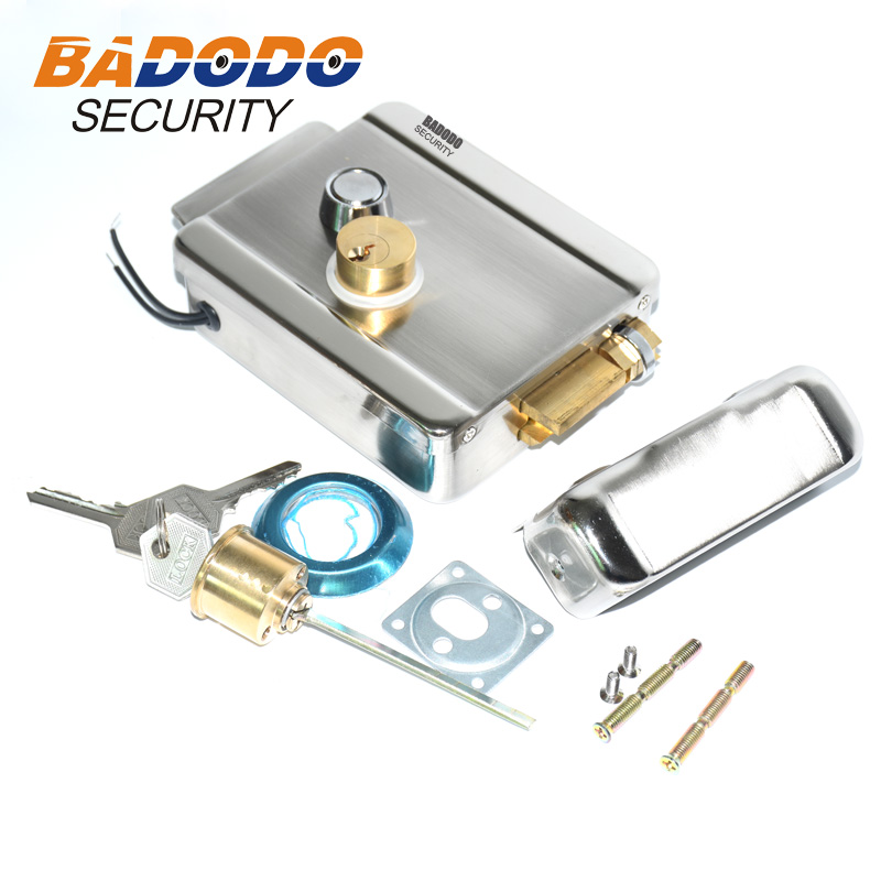 Image 5 - Electric Gate Door Lock Secure Electric metallic Lock Electronic Door Lock for Video Intercom Doorbell Door Access Control-in Electric Lock from Security & Protection