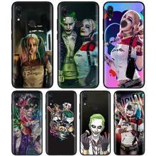 Suicide Squad Joker Harley Quinn Del Silicone di TPU Nero Custodie per Xiao  mi rosso Mi 9d17e75c260