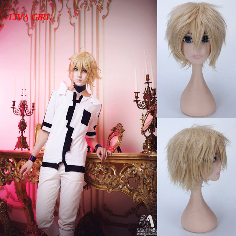 NEW High quality Seraph of the End costume play wigs Halloween costumes hair free shipping NEW High quality