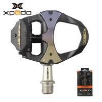 Wellgo XPEDO XRF11CT ultralight 168g จักรยานเหยียบ clipless ปิดผนึก 3 แบริ่ง titanium แกนจักรยาน self - lock เหยียบ