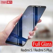 Xiaomi Redmi 5 Plus Glass Tempered Mofi Ultra Clear Thin 2.5D 9H Full Screen Protector Redmi5