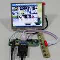 Placa Controladora VGA LCD RT2270C.3-A + LVDS Tcon + 5.6 polegadas AT056TN53 V1 640X480 modelo de tela lcd lcd para Raspberry Pi