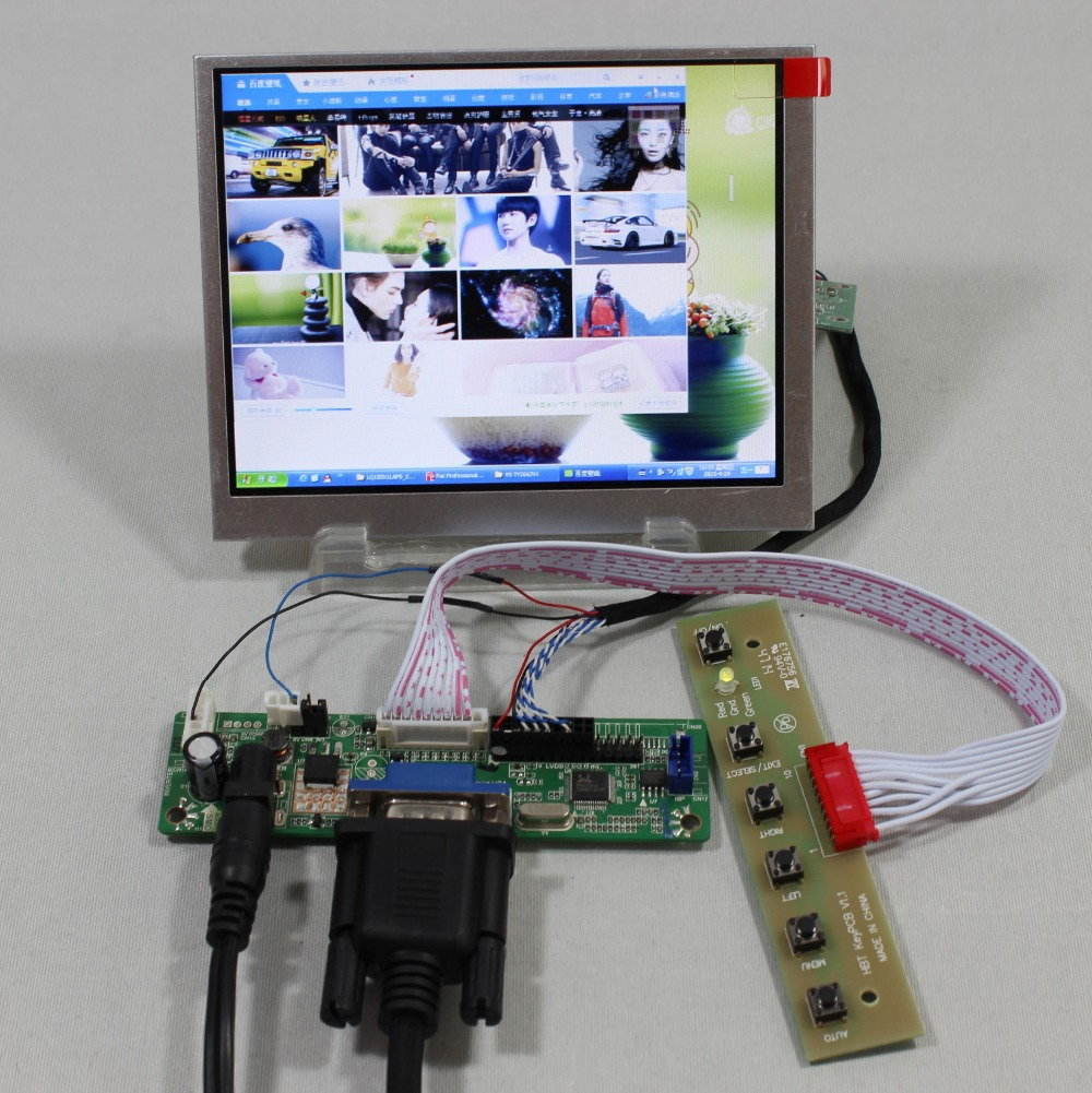 все цены на VGA LCD Controller Board RT2270C.3-A+LVDS Tcon+5.6inch AT056TN53 V1 640X480 lcd screen model lcd for Raspberry Pi онлайн