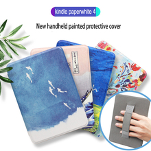 Get more info on the GAUGGER Wrist Rest Smart Case for 6 inch Amazon New Kindle Paperwhite 4 (10th Gen, 2018 Release) eReader Handheld Magnetic Cover