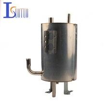 2 حفرة موزع مياه بطانة الفولاذ المقاوم للصدأ خزان داخلي التدفئة