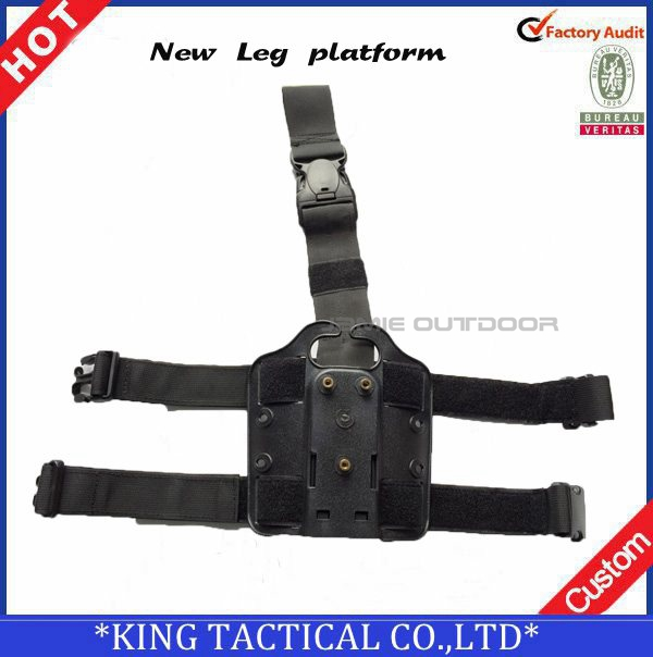 New Leg Platform Modular Thigh Holster Drop leg holster Plateform for GL 17 19 Taurus Sig