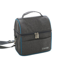 Shoulder Thermal Insulated Lunch Bag Picnic Refrigerator Cooler Fit Fresh Food Storage Womens Kids Thermo Bag