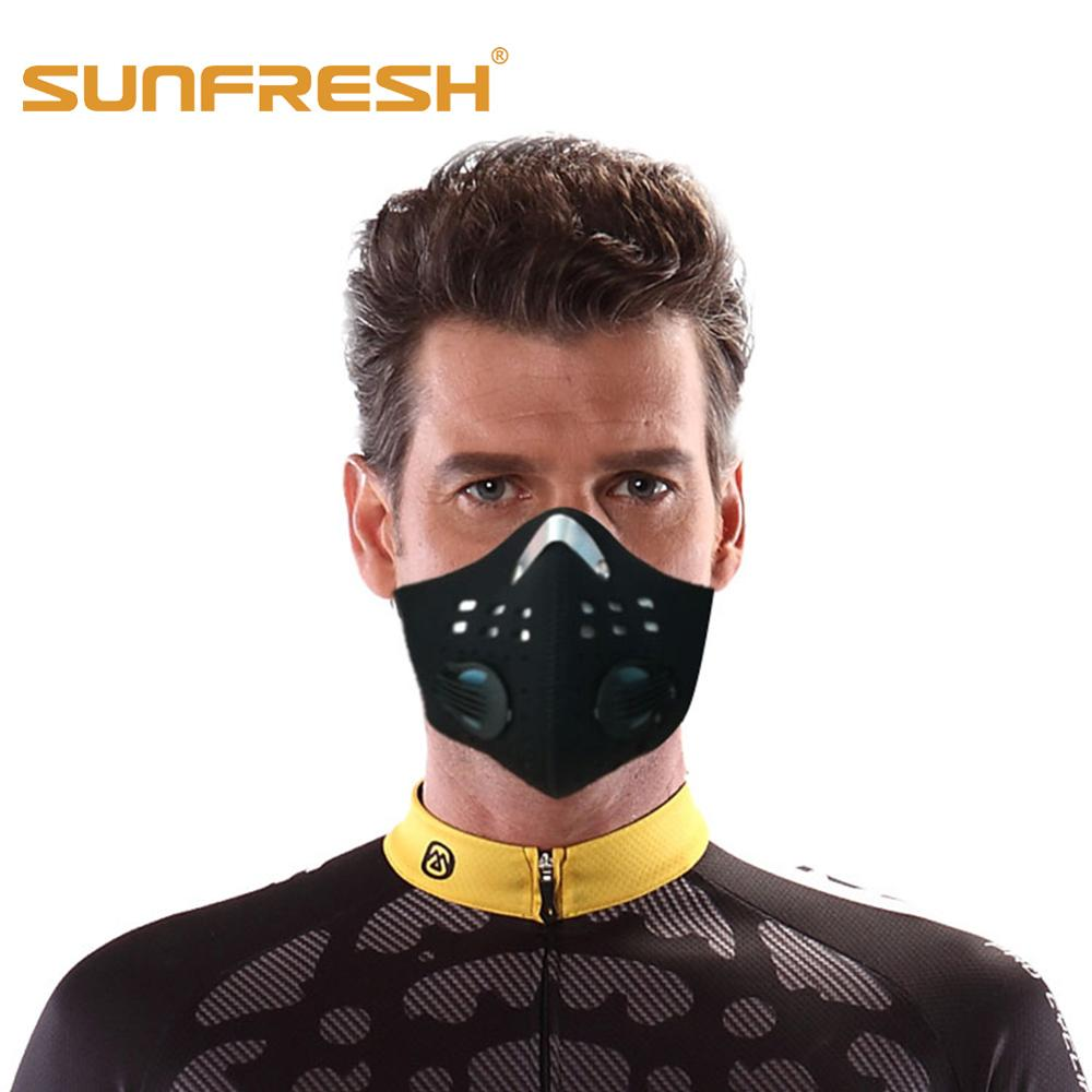 Fashion Dust Mask N99 Neoprene Smog Fog Motorbike Riding Face Mouth Mask Custom Sports Air Filter Wholesale Anti Odor Smoke Mask