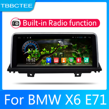 2din Car multimedia Android Autoradio Radio GPS player For BMW X6 E71 2011-2013 Bluetooth WiFi Mirror link Navi