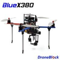 BlueX380 Quadcopter DIY Drone KIT Aluminum Frame F450 Multicopter Multi Rotor Racing Drone QuadX For RC FPV APM Pixhawk