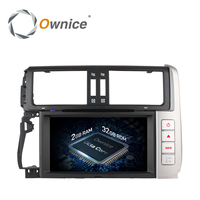 Ownice C500 Android 6.0 Octa 8 core 32 ГБ Встроенная память dvd плеер GPS для Toyota Prado 150 Land Cruiser радио Поддержка Wi Fi 4 г dab +