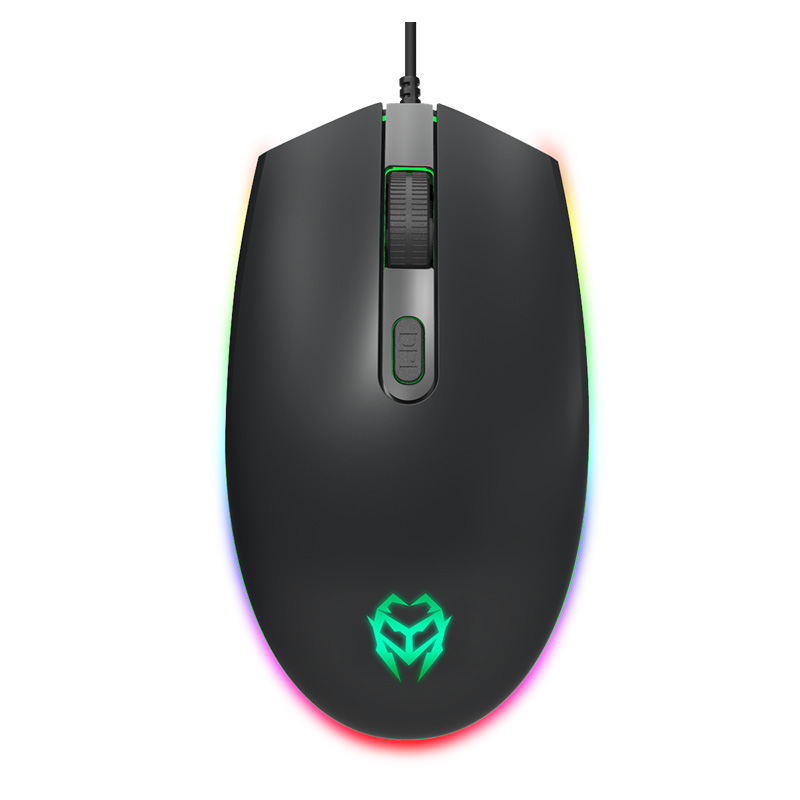 USB Wired Gaming Mouse 3 Buttons 1600DPI LED Optical Computer Mouse Mice for PC Laptop Notebook Game mice Gamer