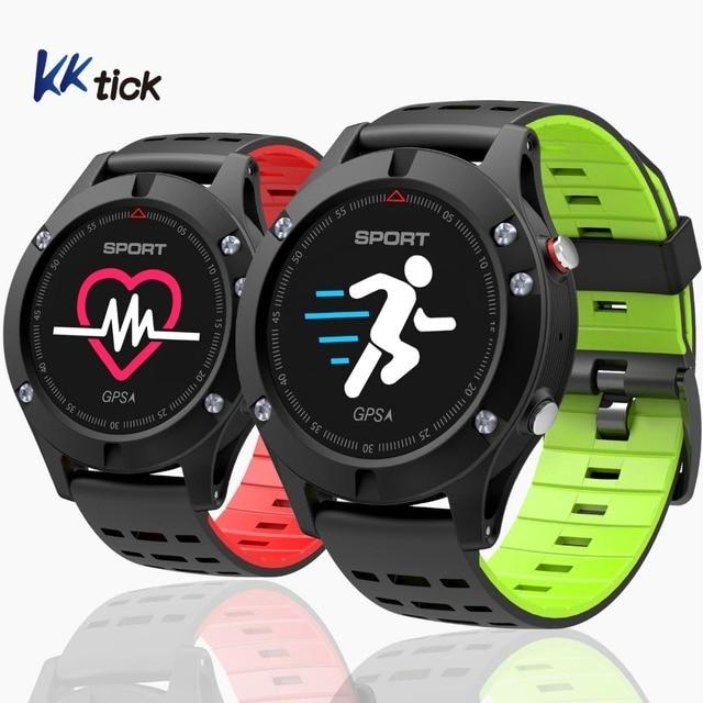 KKTICK F5 SmartWatch GPS Fitness band Altimeter Barometer Thermometer reloj inteligente Sports Watch Fitness Activity Tracker