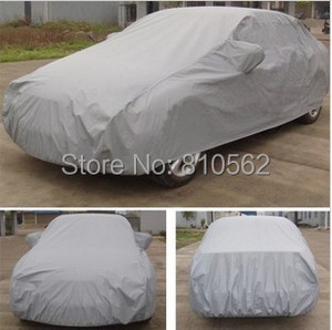 Image 3 - 가득 차있는 차 덮개 breathable uv 보호, 반대로 먼지 및 찰상, 방연제 방패, 더 많은 차 후드를 위한 다 크기