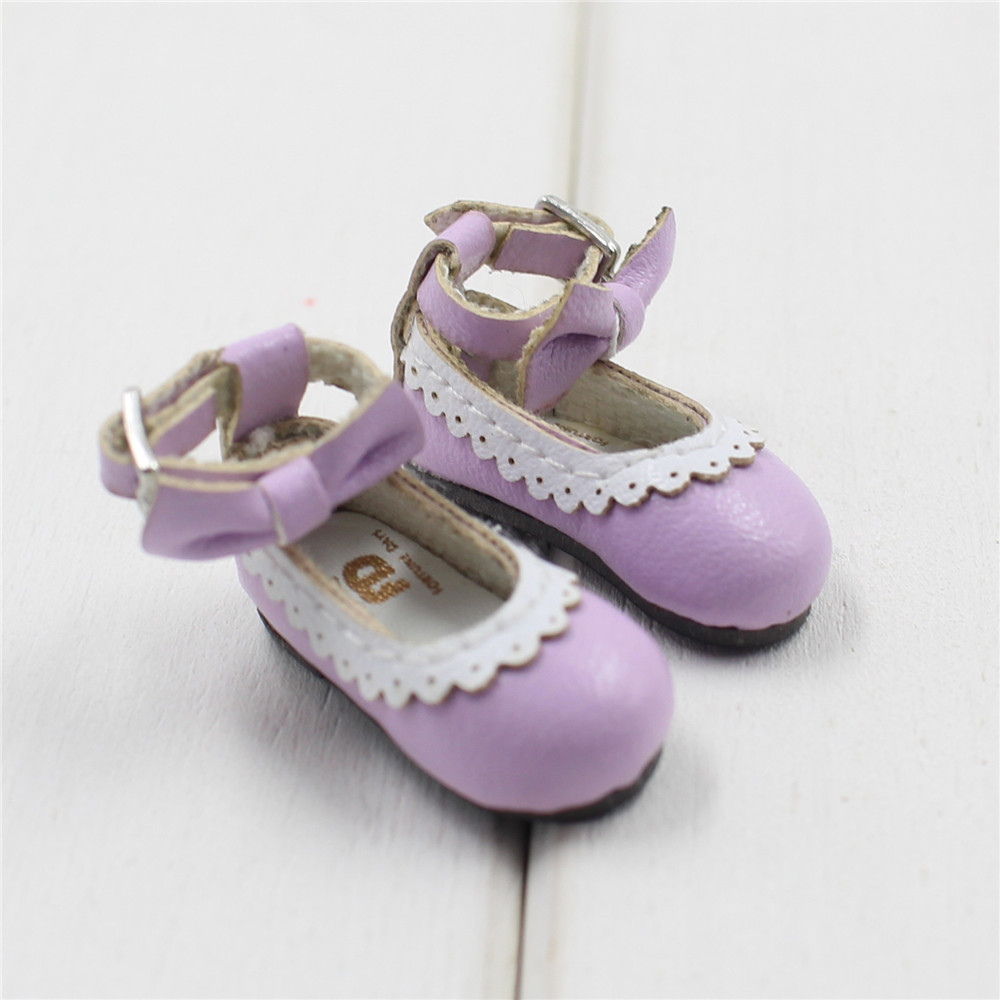 Neo Blythe Doll Designer Shoes with Bow 18