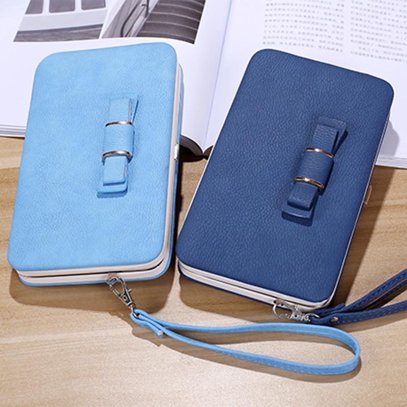 Bowknot Wallet Case Cover For Google 5 5X 6P Google Pixel XL 2 XL 3 XL Long Women Wallet Coin Purse Clutch Bag Phone Pocket
