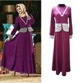 Новые Мусульманские Женщины Абая Платье Турецкий Девушку одежда Мода Джилбаба Исламская одежда Турции и Abayas Халат Мусульманского Кружева Платья