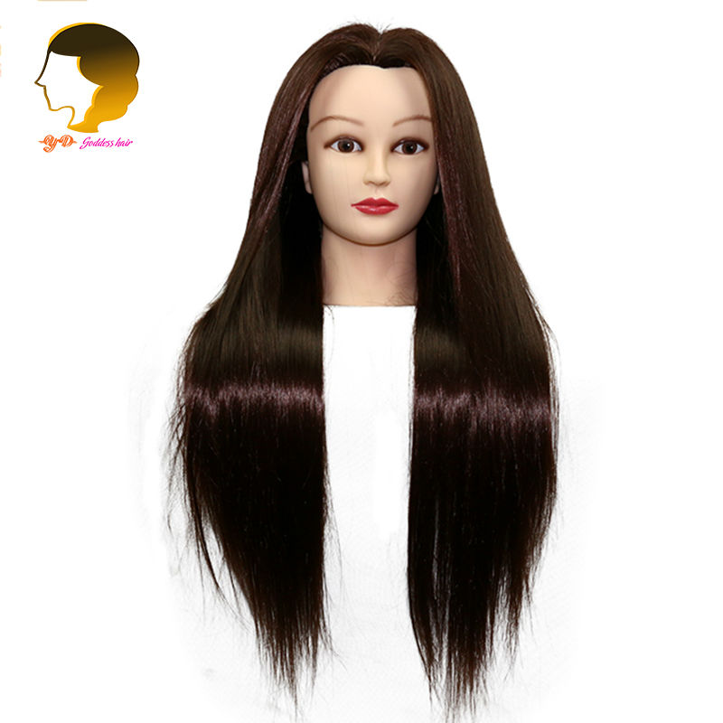 Hairdressing Mannequins Doll Heads Training Mannequin Head Hairstyles Long Hair For Practice Dummy Dolls Hairdressers In From Home