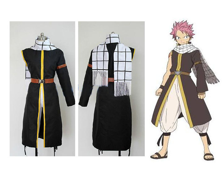 Free Shipping Fairy Tail Natsu Dragneel Cosplay Costume-in Anime Costumes  from Novelty & Special Use on Aliexpress.com | Alibaba Group