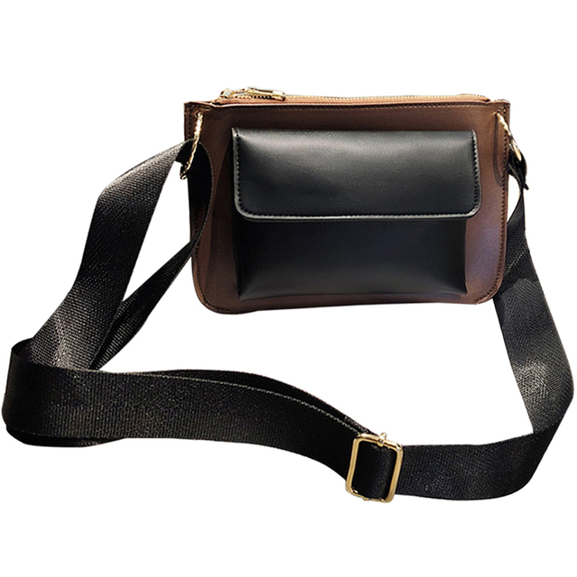 54d235fe2f High Quality Korea Style Women Crossbody Bags Female Totes Handbags Women  Bag Solid Color Leather Messenger Shoulder Bag