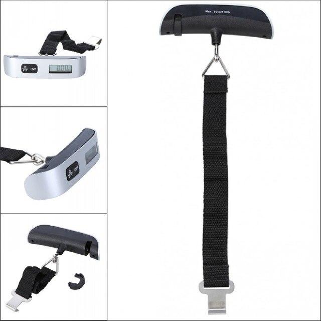 Z-Unit Balance électronique numérique 50 kg pour valise de voyage 5