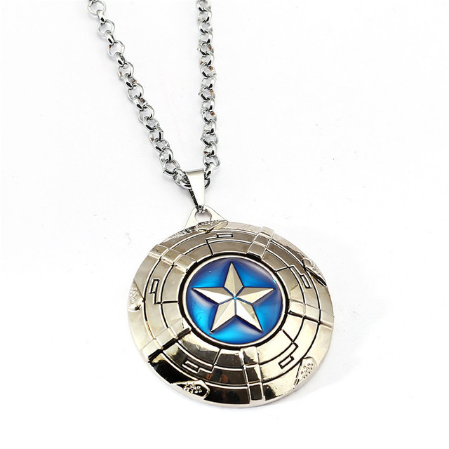Captain America Shield Necklace 1