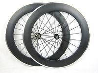Rodas de bicicleta de carbono com superfície de freio liga 60mm 90mm 50mm clincher road bike rodado liga de carbono 700c argumento decisivo jantes