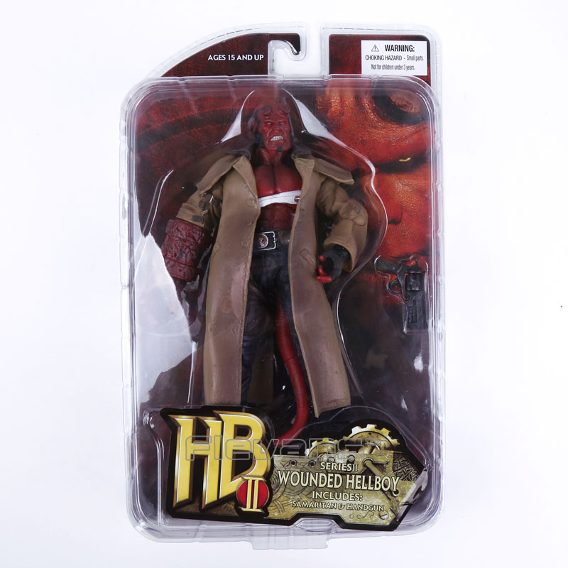 MEZCO Hellboy PVC Action Figure Collectible Model Toy 2Styles 7 18cm neca planet of the apes gorilla soldier pvc action figure collectible toy 8 20cm