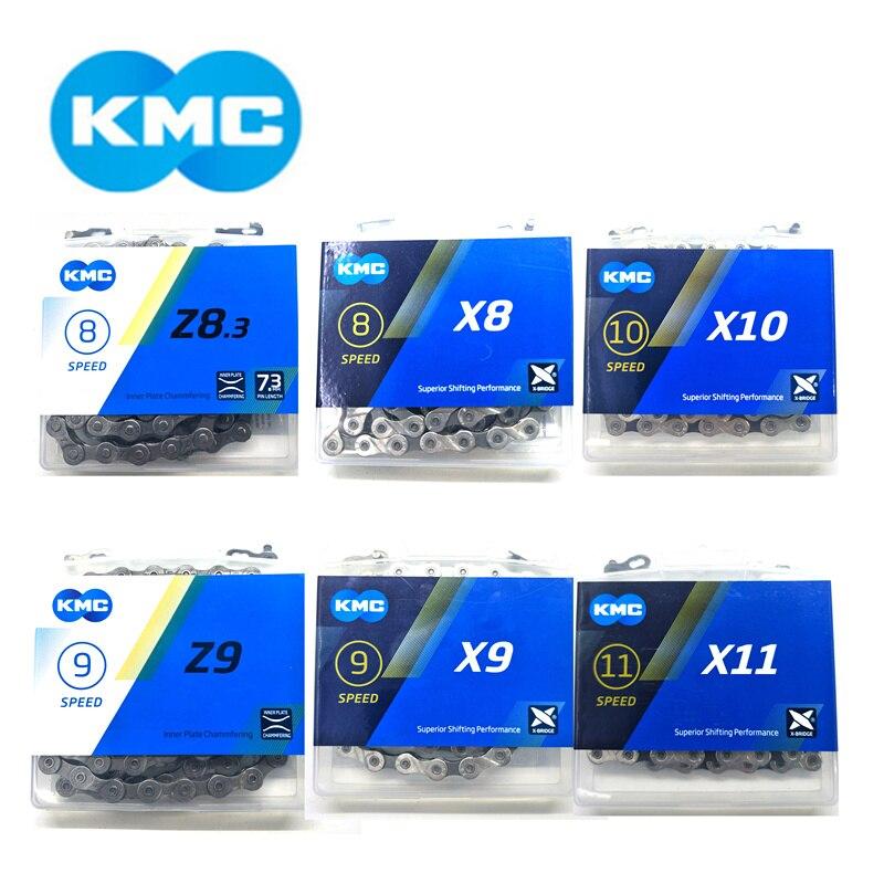 Nova KMC Original X11.93 X11 X10 X9 Z9 X8 Z8 Ligações Chains 116 118L Ciclo Cadeia Desviador 8 9 10 11 velocidade MTB Estrada Corrente de Bicicleta